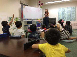 Spectrum Afterschool 1日の流れ  英語レッスン